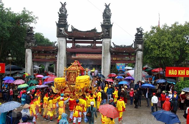 Lễ rước nước - nghi lễ quan trọng trong Lễ hội Đền Trần ở Thái Bình