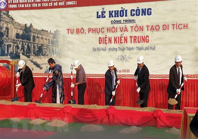 Đầu tư hơn 123 tỷ đồng phục hồi và tôn tạo di tích điện Kiến Trung ở Huế