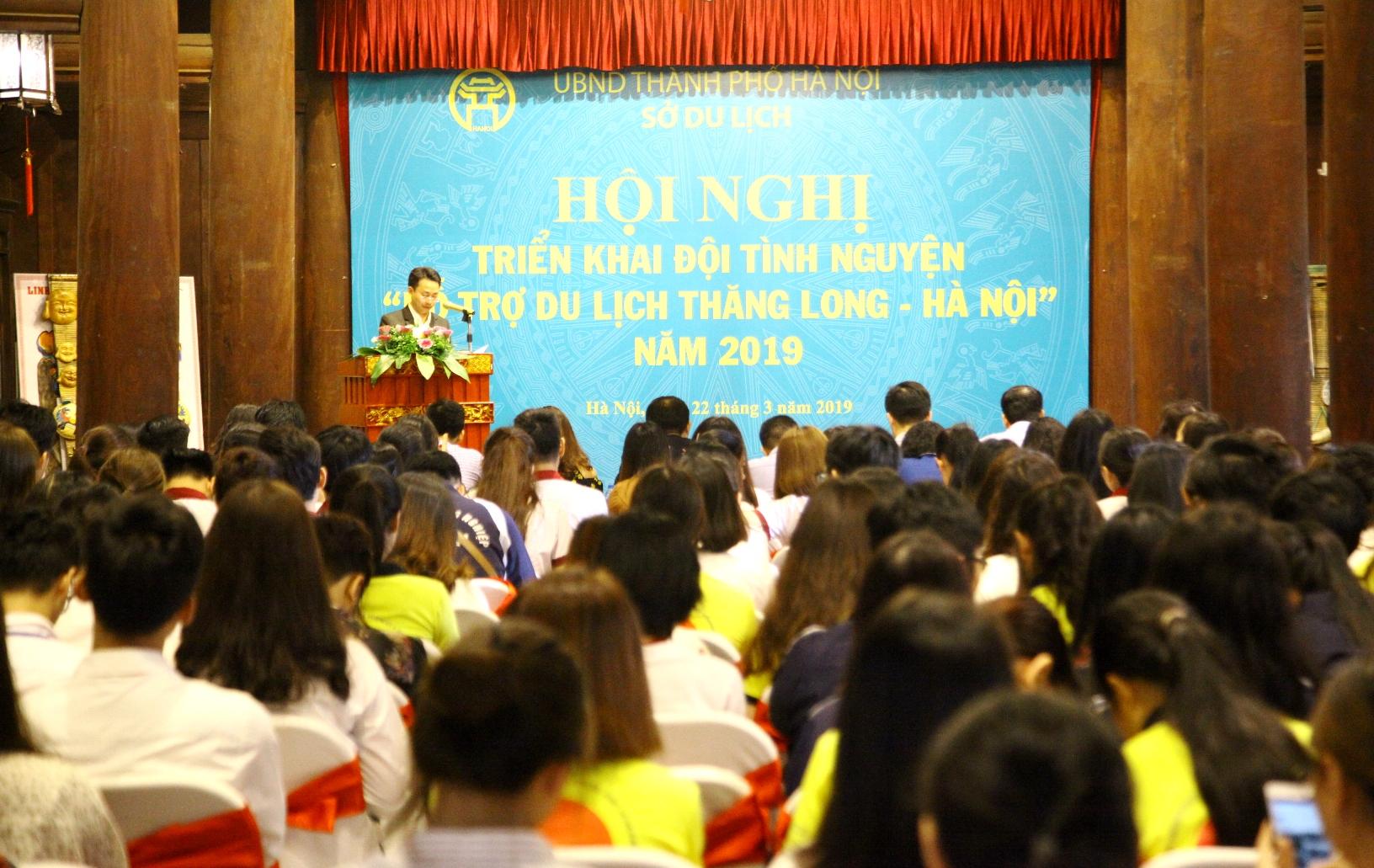 Hà Nội triển khai Đội tình nguyện hỗ trợ khách du lịch