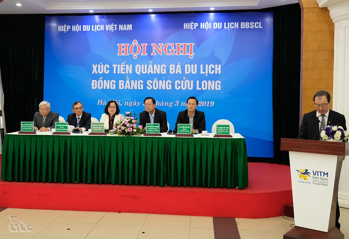 Hội nghị xúc tiến quảng bá du lịch các tỉnh Đồng bằng sông Cửu Long
