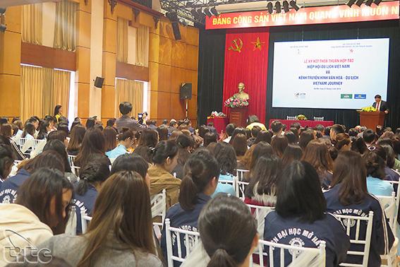 Đẩy mạnh hợp tác giữa Hiệp hội Du lịch Việt Nam và Kênh truyền hình văn hóa – du lịch Vietnam Journey