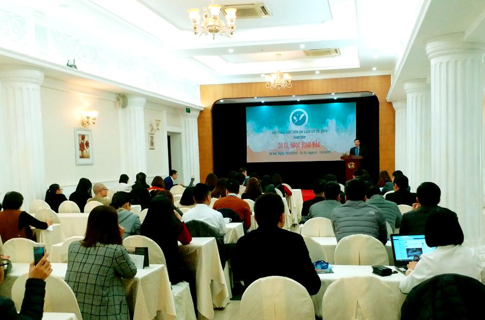 Cô Tô (Quảng Ninh) tổ chức hội thảo xúc tiến phát triển du lịch