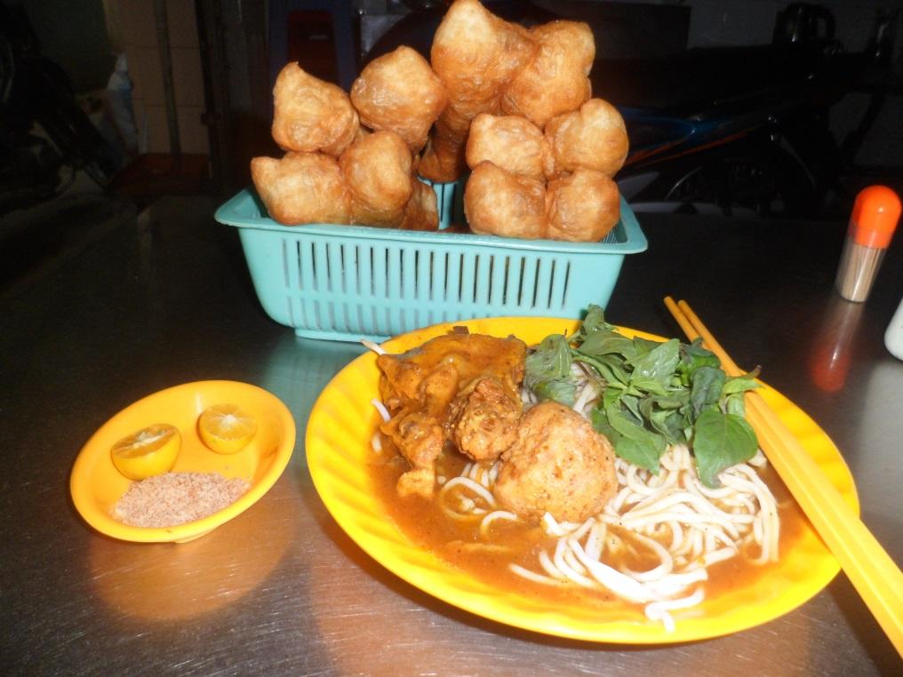 Phong phú ẩm thực đường phố Cà Mau