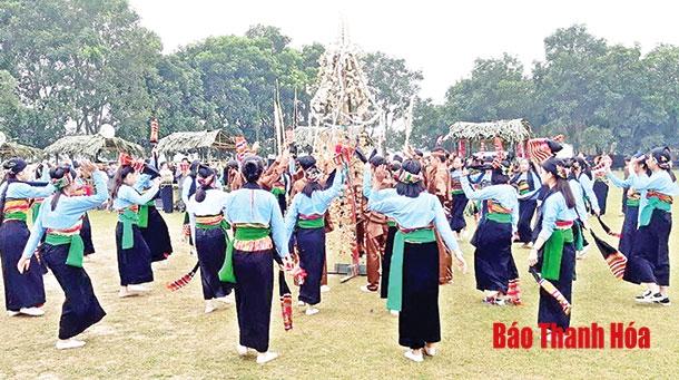 Thanh Hóa: Phục dựng lễ hội Nàng Nga - Hai Mối của người Mường Cẩm Thủy