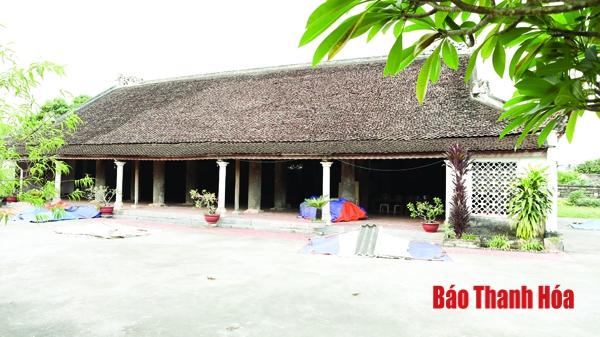 Nét đẹp đình làng (Thanh Hóa) – biểu tượng văn hóa làng, xã Việt
