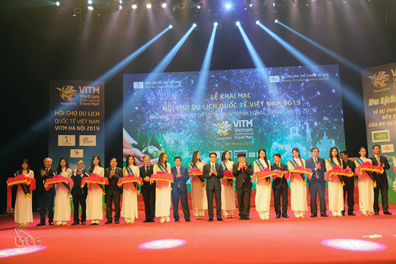 Khai mạc Hội chợ du lịch quốc tế VITM Hà Nội 2019
