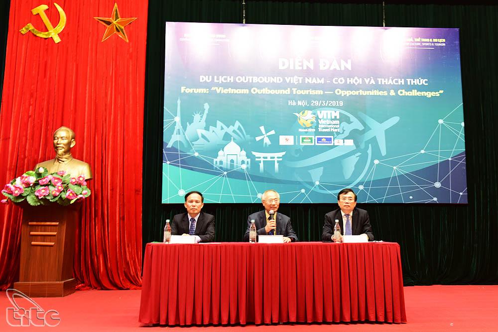 Lần đầu tiên tổ chức diễn đàn về du lịch outbound tại Việt Nam