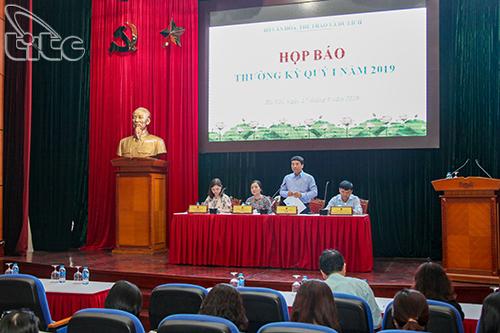 Bộ VHTTDL tổ chức Họp báo Quý I năm 2019