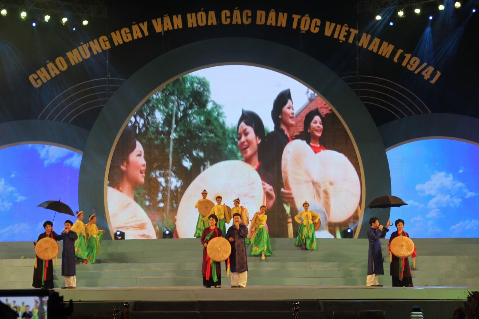 Chương trình chi tiết các hoạt động trong Ngày văn hóa các dân tộc Việt Nam năm 2019