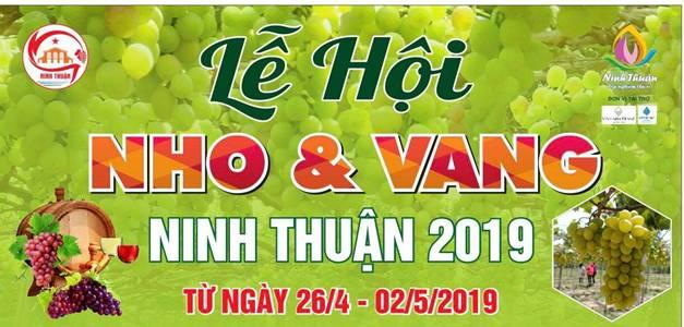 Lễ hội Nho và Vang Ninh Thuận 2019