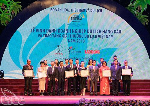 Quy chế tổ chức Giải thưởng Du lịch Việt Nam năm 2019