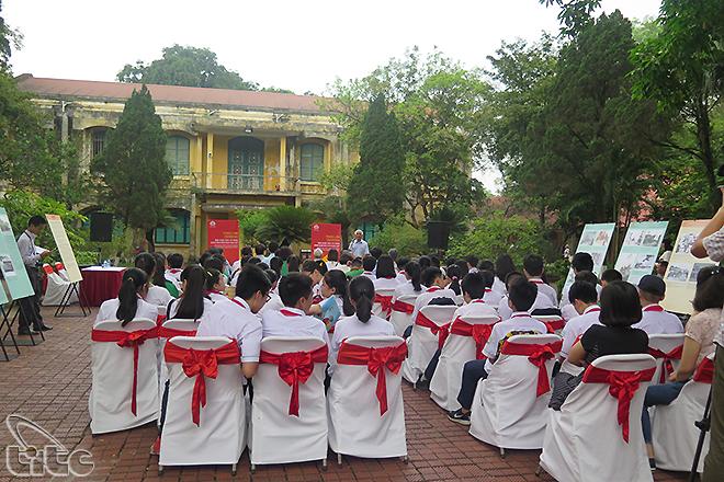 Nhiều hoạt động hấp dẫn tại Hoàng thành Thăng Long dịp nghỉ lễ 30/4 và 1/5