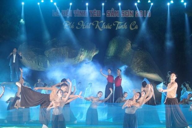 """Lần đầu tiên tổ chức """"Lễ hội Tình yêu-Hòn Trống Mái"""" ở Thanh Hóa"""