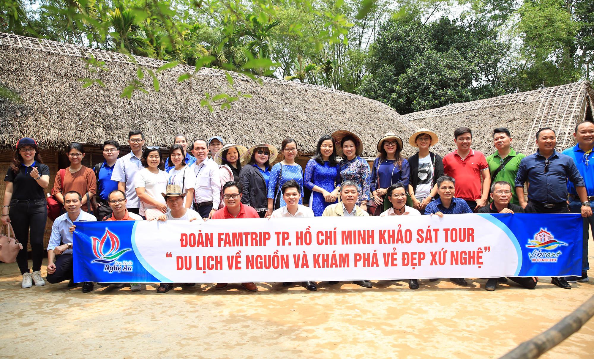 Nghệ An –TP. Hồ Chí Minh phối hợp xây dựng tour du lịch