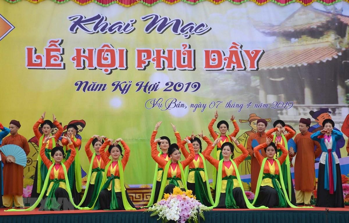 Lễ hội Phủ Dầy gắn với bảo tồn, phát huy tín ngưỡng thờ Mẫu