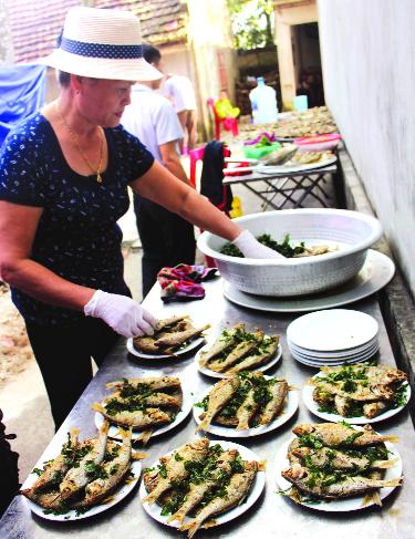 Cá mòi kho - đặc sản vùng đất Kiến Thụy, Hải Phòng