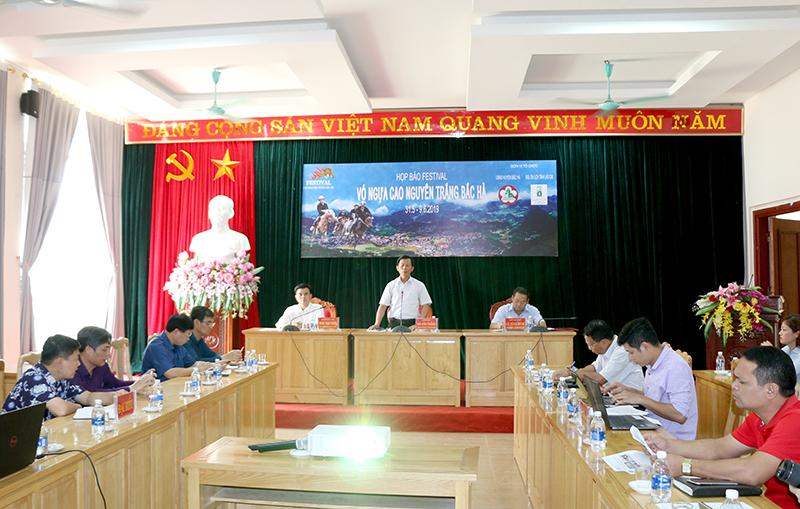 """Lào Cai: Sẵn sàn cho Festival """"Vó ngựa cao nguyên trắng Bắc Hà"""""""
