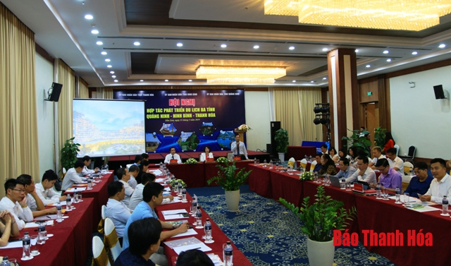 Hợp tác phát triển du lịch 3 tỉnh Quảng Ninh - Ninh Bình - Thanh Hóa