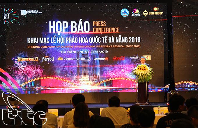 Họp báo khai mạc Lễ hội pháo hoa quốc tế Đà Nẵng - DIFF 2019