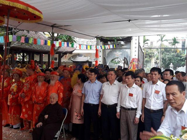 Lễ hội truyền thống Đình Hoàng Mai năm 2019