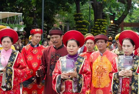 Lễ hội Hoa làng nghề lần đầu tiên tại Festival nghề truyền thống Huế 2019
