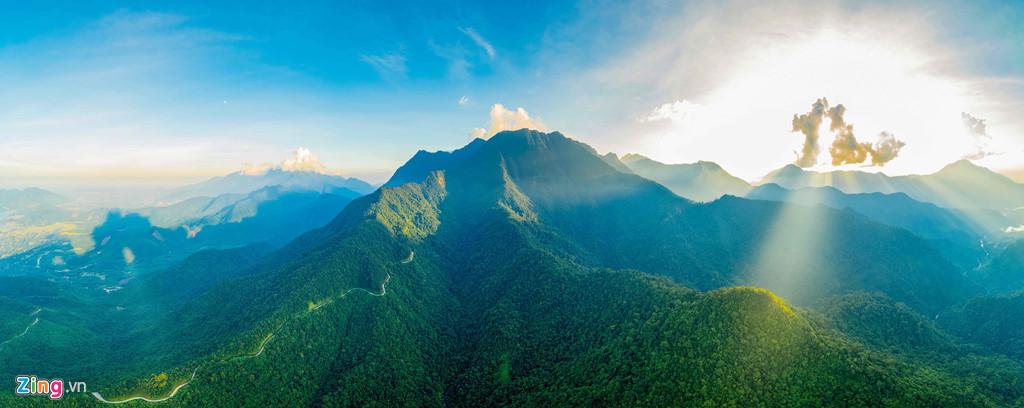 Vẻ đẹp hùng vĩ ở vườn quốc gia Bạch Mã ( Thừa Thiên - Huế)