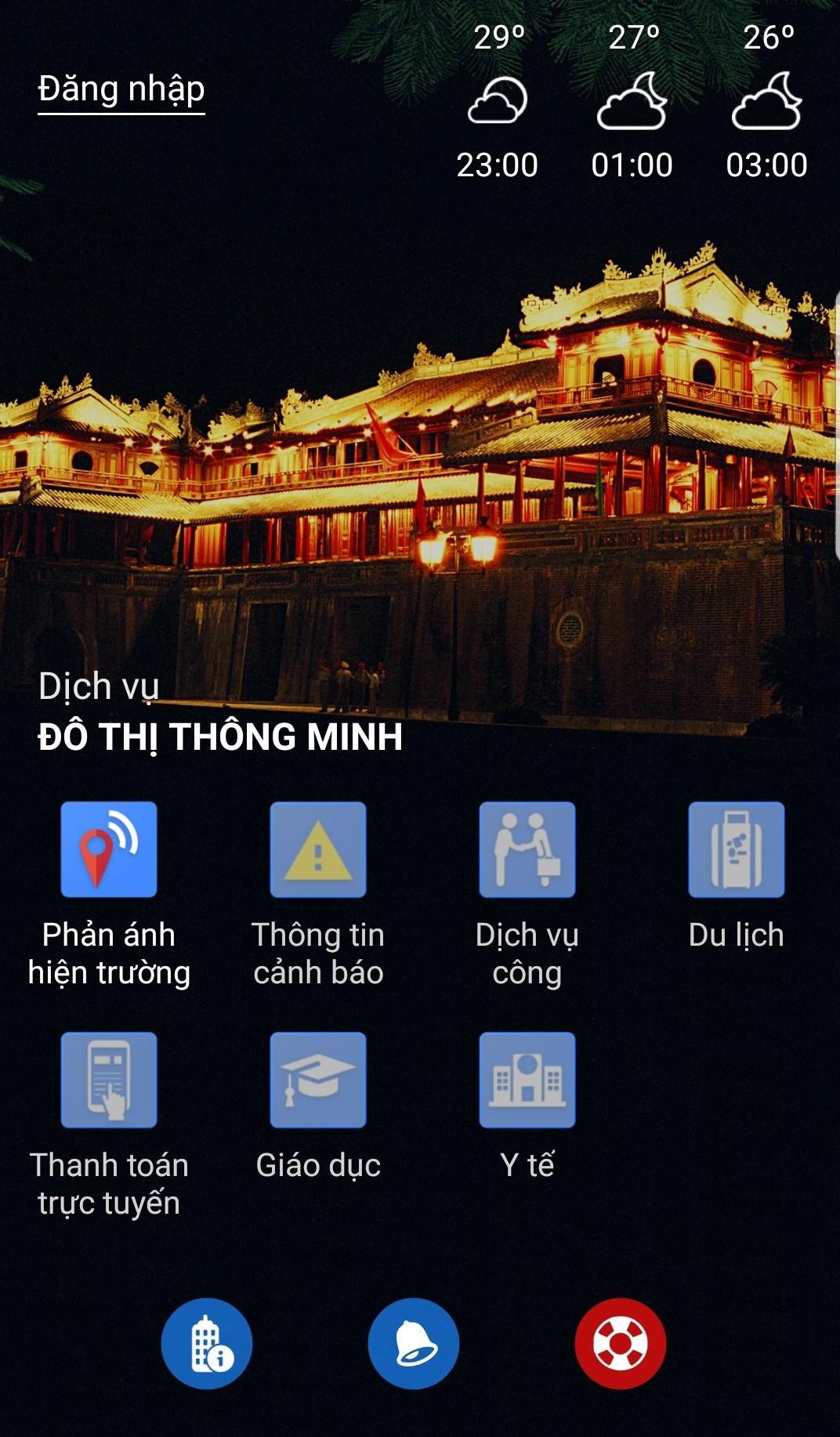 Thừa Thiên Huế triển khai dịch vụ
