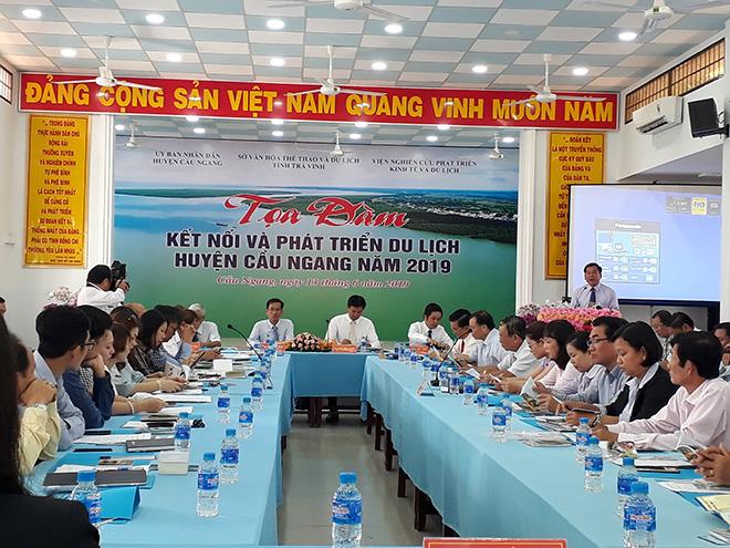 Trà Vinh: Tọa đàm kết nối và phát triển du lịch huyện Cầu Ngang năm 2019