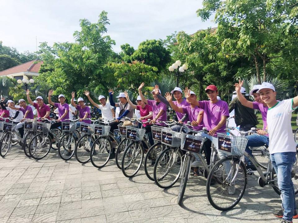 Hội An khai trương hệ thống chia sẻ xe đạp để bảo vệ môi trường