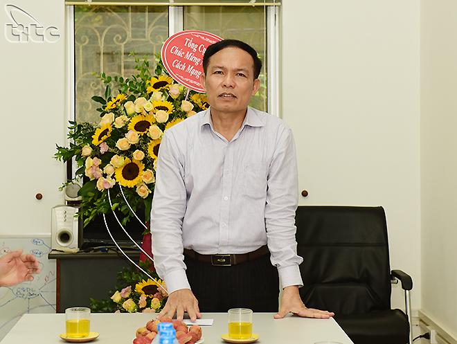 Phó Tổng cục trưởng Ngô Hoài Chung thăm và chúc mừng Trung tâm Thông tin du lịch nhân Ngày báo chí cách mạng Việt Nam