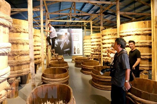 Bảo tàng nước mắm đầu tiên ở Việt Nam đã đi vào hoạt động