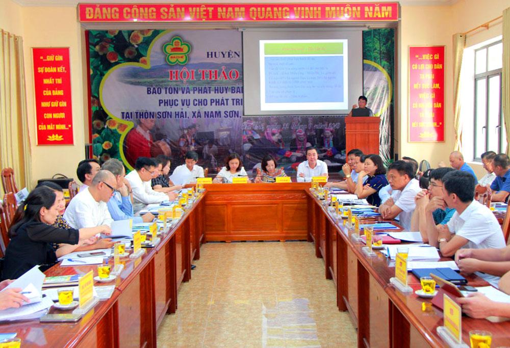 Hội thảo khoa học bảo tồn, phát huy giá trị di sản văn hóa người Dao Ba Chẽ