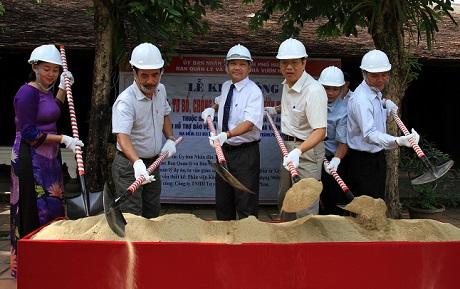 Khởi công công trình tu bổ, chống xuống cấp nhà vườn Nguyễn Hữu Thông