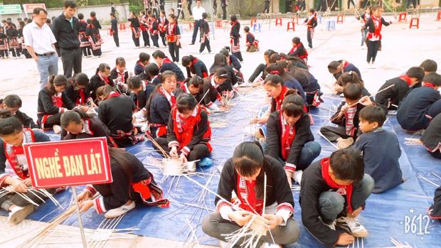 Hồ Thầu (Hoàng Su Phì) điểm sáng trong giảng dạy văn hóa truyền thống
