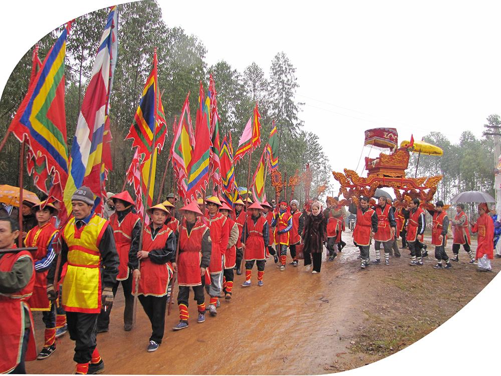 Độc đáo tục đón Vua về làng ăn Tết ở Phú Thọ