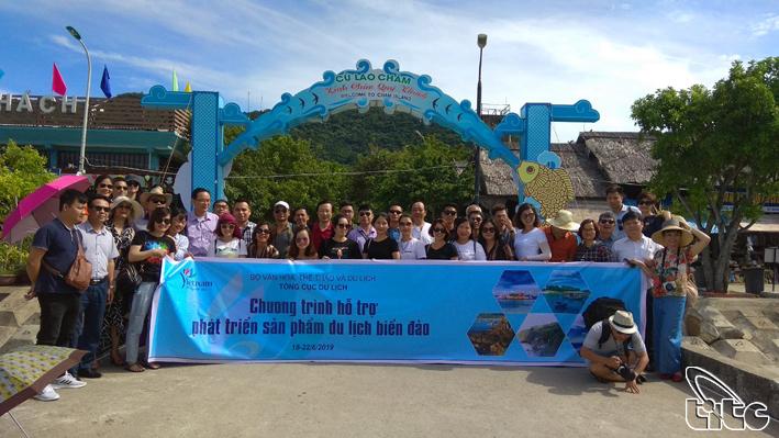 Tổng cục Du lịch tổ chức chương trình khảo sát hỗ trợ phát triển sản phẩm du lịch biển đảo