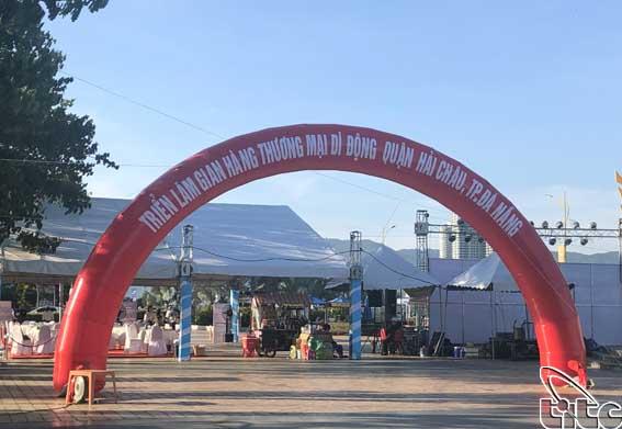 Đà Nẵng: Triển lãm thương mại gian hàng kinh doanh di động