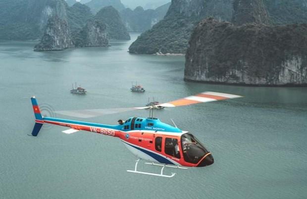Truyền thông quốc tế giới thiệu trải nghiệm Hạ Long bằng trực thăng