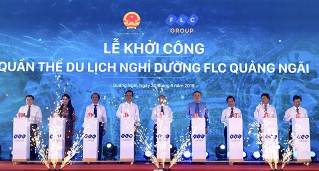 Khởi công Quần thể du lịch nghỉ dưỡng FLC Quảng Ngãi