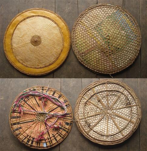 Đặc sắc nón lá của dân tộc Lô Lô đen