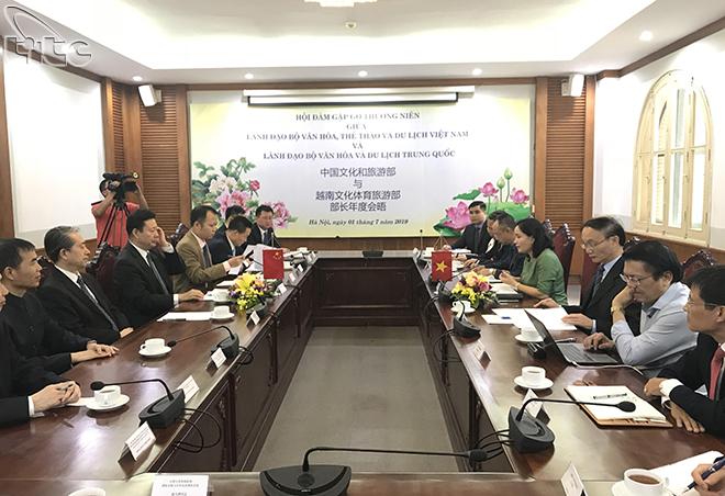 Việt Nam và Trung Quốc tăng cường hợp tác về văn hóa, du lịch