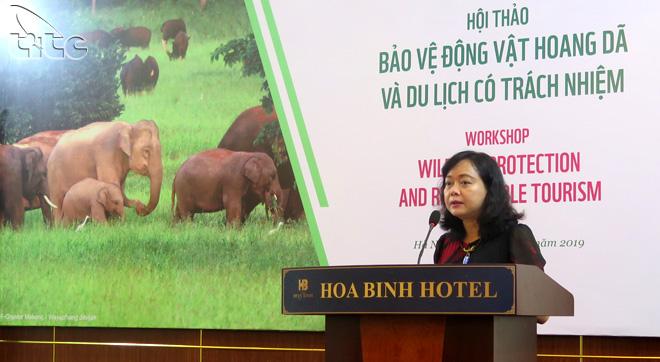 Hội thảo Bảo vệ động vật hoang dã và du lịch có trách nhiệm