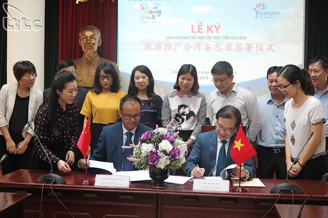 Việt Nam đẩy mạnh hợp tác xúc tiến du lịch với Sơn Đông (Trung Quốc)