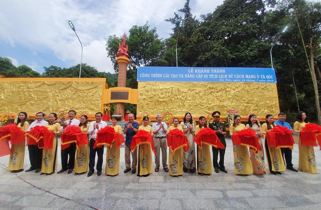 An Giang: Khánh thành công trình cải tạo và nâng cấp Di tích quốc gia Ô Tà Sóc