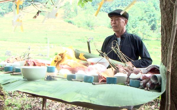 Đặc sắc lễ cúng rừng thôn Na Cáng, xã Si Ma Cai