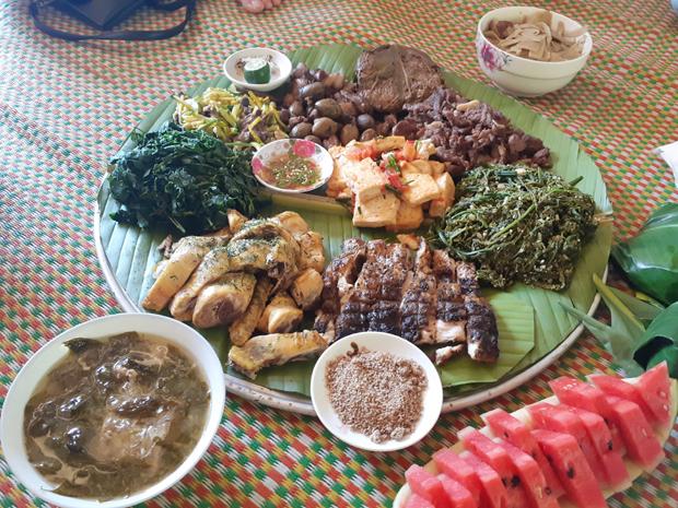 Ẩm thực dân dã ở Làng Văn hóa du lịch cộng đồng thôn Nà Ràng