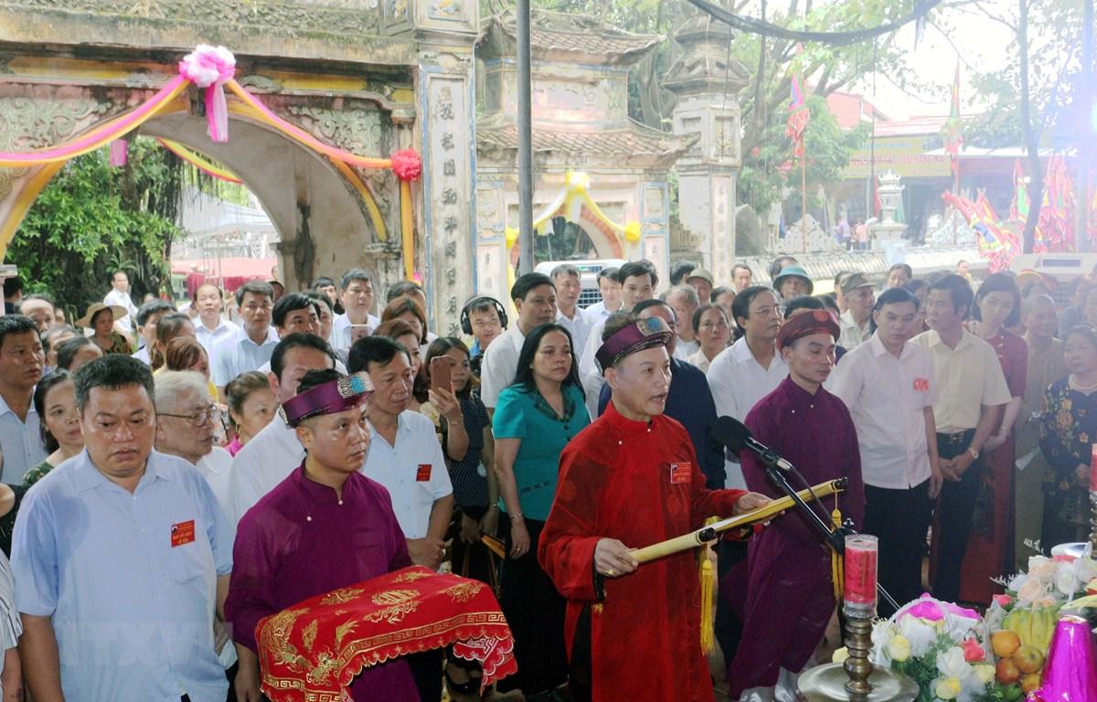 Hà Nam: Lễ hội truyền thống đền Lảnh Giang với tín ngưỡng thờ Mẫu