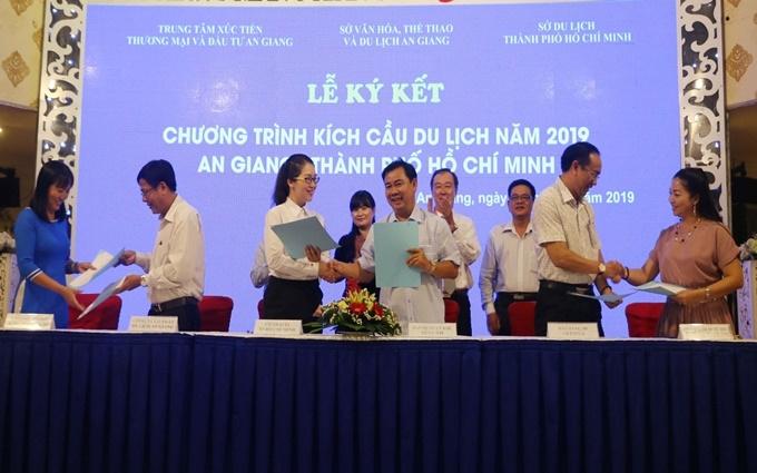 An Giang và TP Hồ Chí Minh hợp tác kích cầu du lịch