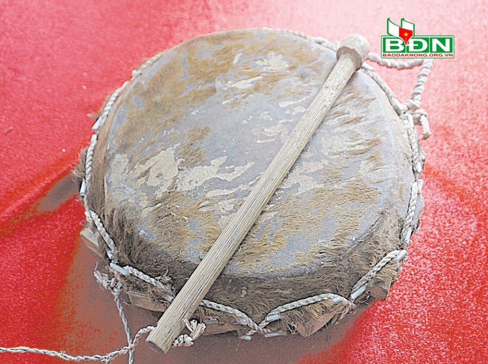 Trống nêm - nhạc cụ độc đáo của người Dao ở Đắk Nông