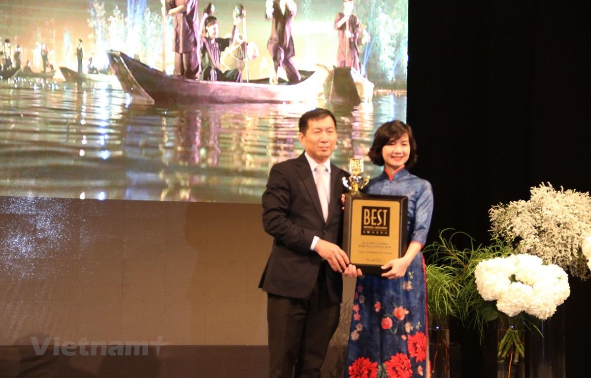"""Vở diễn """"Tinh hoa Bắc Bộ"""" đoạt giải thưởng quốc tế tại Hàn Quốc"""
